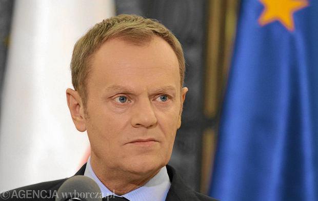 Tusk: Nie uczestniczmy w narodowej gonitwie za Trynkiewiczem