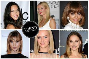 W�osy od linijki - gwiazdy lansuj� nowy trend. Czy proste ko�ce zast�pi� modne od lat cieniowanie?