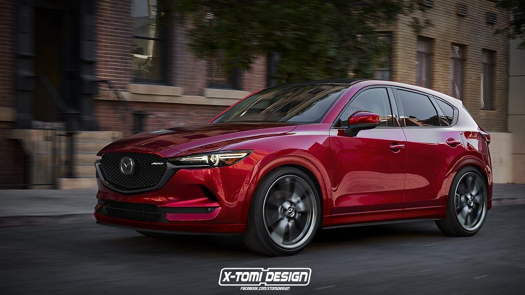 Sportowa Mazda CX-5