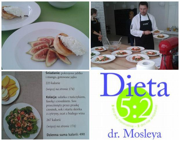 Dieta 5:2 polega na skrajnym ograniczeniu spo�ywanych kalorii przez 2 dni w tygodniu i jedzeniu wedle w�asnego uznania przez pozosta�e 5 dni