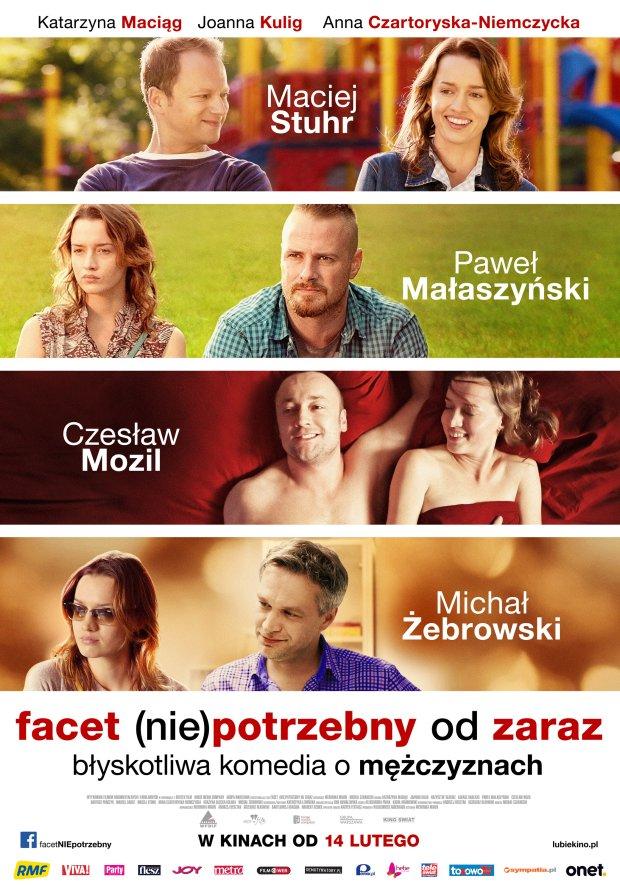 """""""Facet (nie)potrzebny od zaraz"""" - polska komedia romantyczna z premierą na walentynki"""