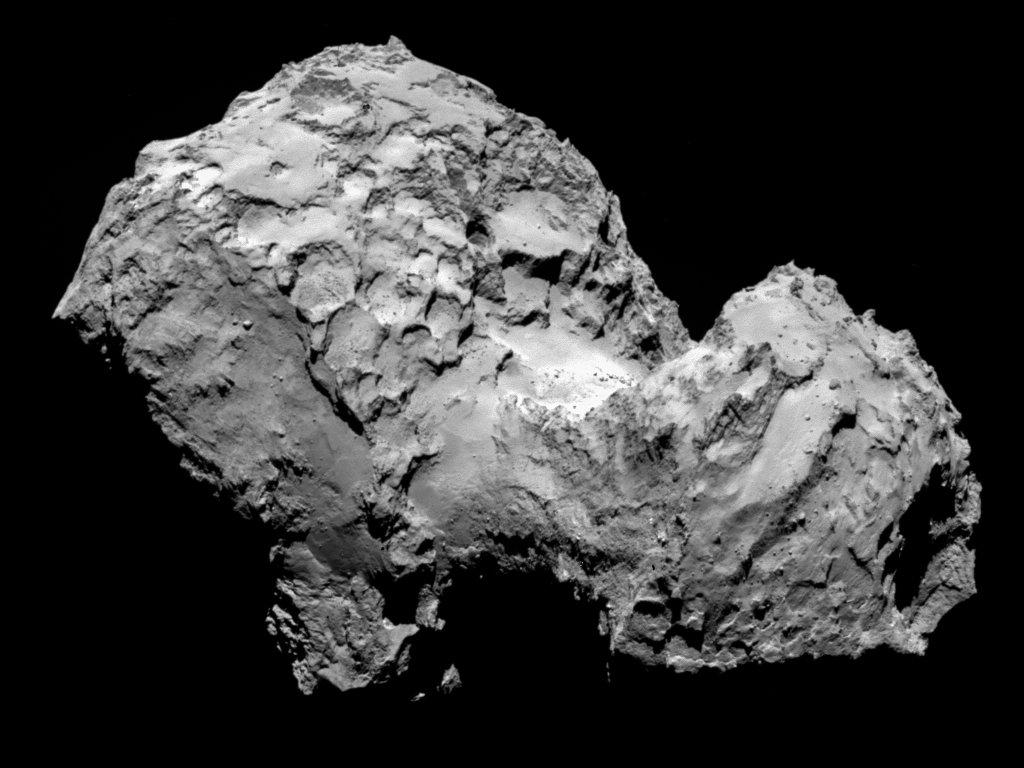 Sonda Rosetta dotarła do komety okresowej 67P/Czuriumow-Gierasimienko i weszła na jej orbitę