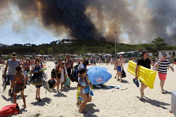 Pożary we Francji