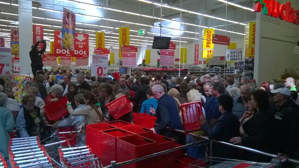 Otwarcie Auchan