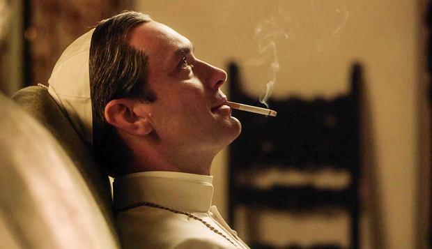 Kadr z serialu 'Młody papież'