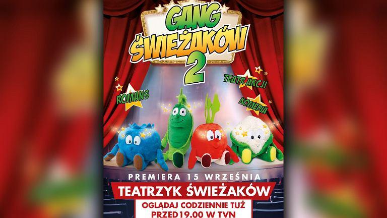 Teatrzyk Świeżaków to kolejna odsłona akcji związanej z Gangiem Świeżaków i promocją warzyw i owoców.