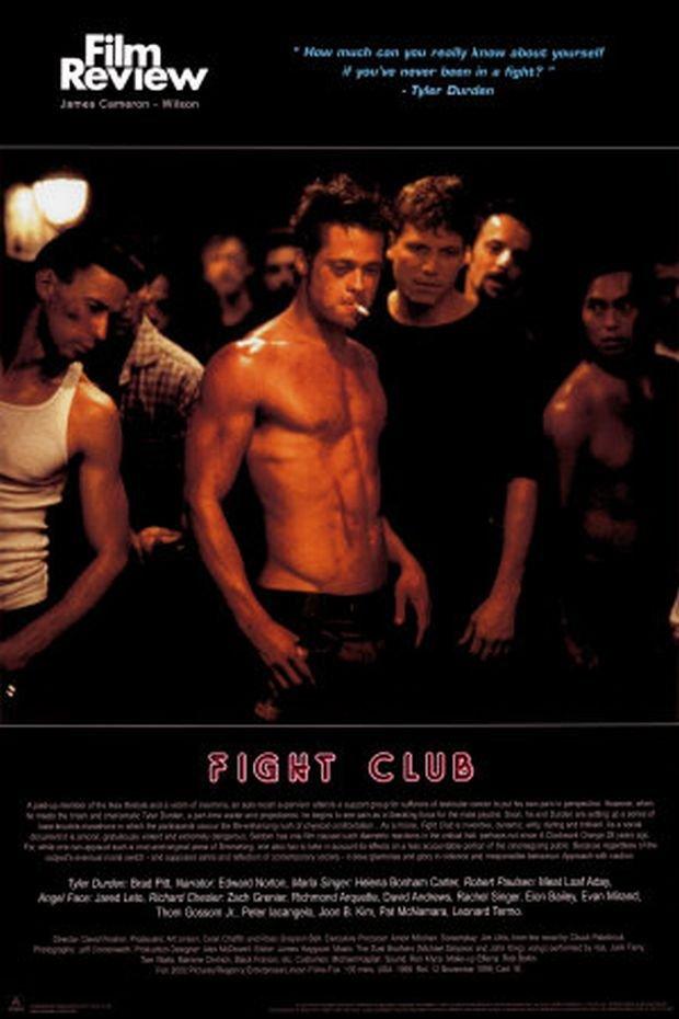 """Brad Pitt, plakat """"Fight Club"""""""