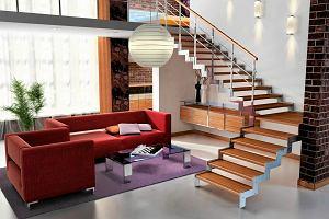 Wyposa�enie wn�trz: schody dla wygody
