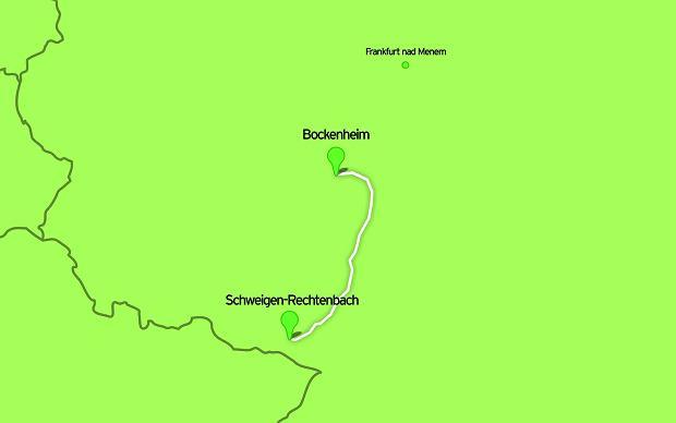 Niemiecki szlak wina, rowery, szlaki rowerowe