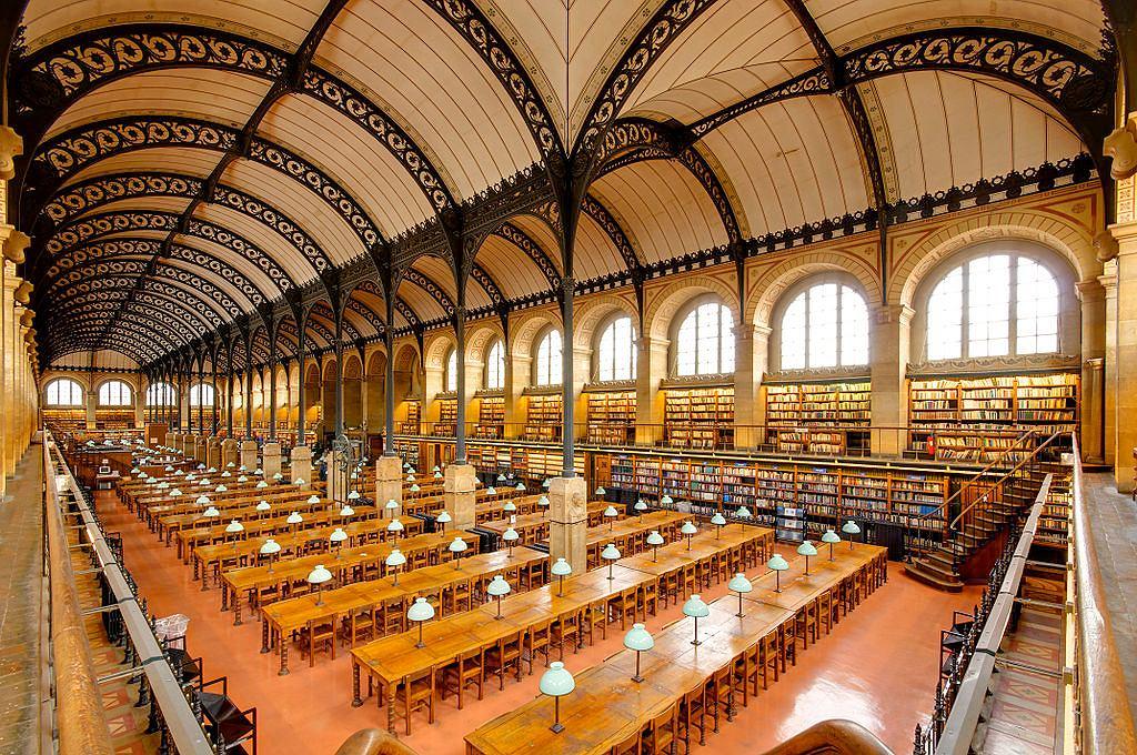 Bibliotheque Sainte-Genevieve / Fot. Marie-Lan Nguyen, Wikimedia CC BY 2.0 fr