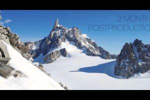 Tak powsta�a najwi�ksza na �wiecie panorama Mont Blanc