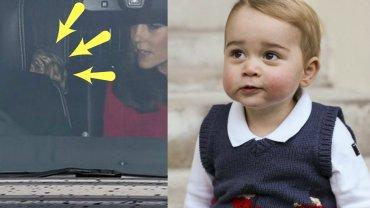 Książę George, księżna Kate