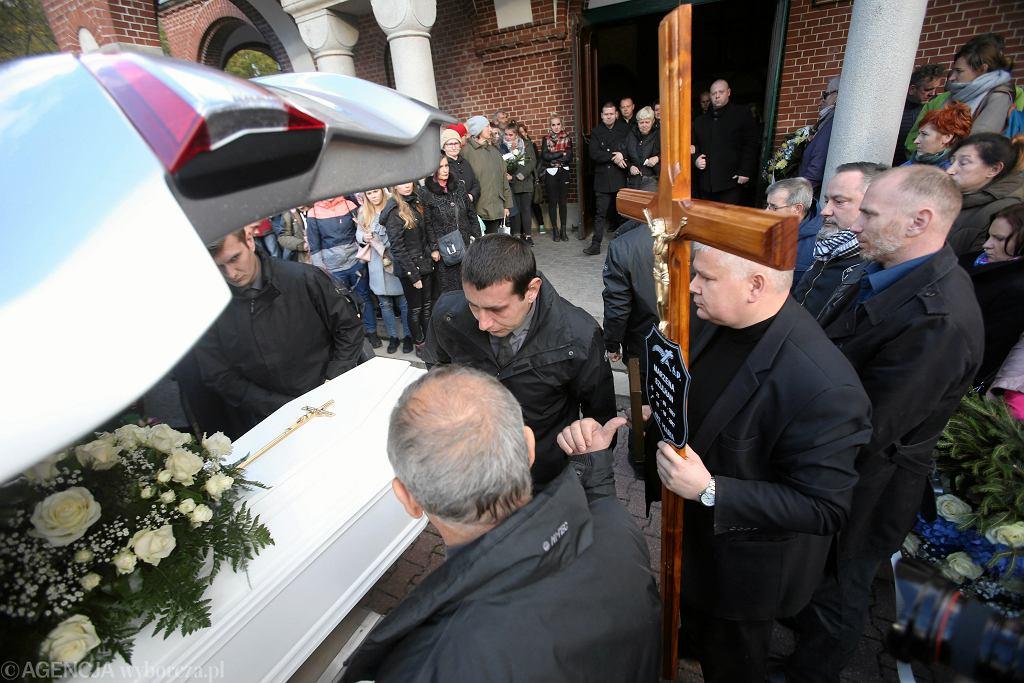 Pogrzeb Marzeny Szulhan