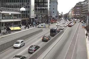 Ciężarówka wjechała w tłum w centrum Sztokholmu. Są ofiary śmiertelne