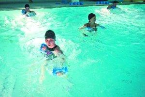 Aqua kick-boxing - boks w wodzie