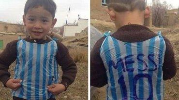 Pami�tacie ch�opca w koszulce Messiego z reklam�wki? Ta historia ma smutny ci�g dalszy