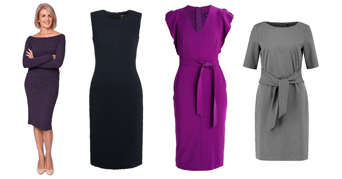 1f70819f3b87 Sukienki dla dojrzałych kobiet  piękne modele na co dzień i na specjalne  okazje