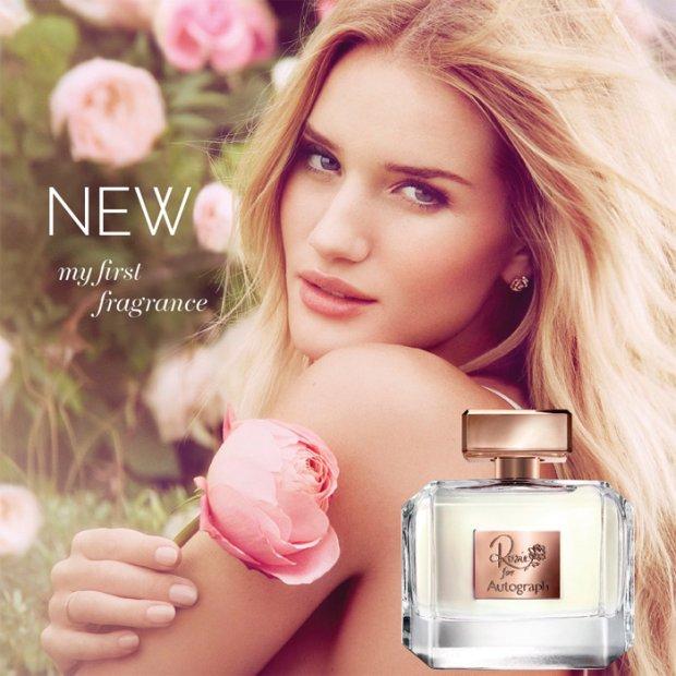Pierwszy, autorski zapach Rosie Huntington-Whiteley dla Marks&Spencer