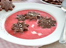 Letnia zupa truskawkowa - ugotuj