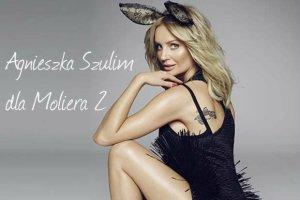 Agnieszka Szulim ponownie dla Moliera 2 - tym razem bardzo sexy. Co więcej - sesja bez retuszu [WSZYSTKIE ZDJĘCIA]