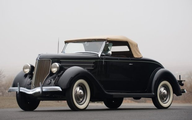 1936 Ford V8 Coupe