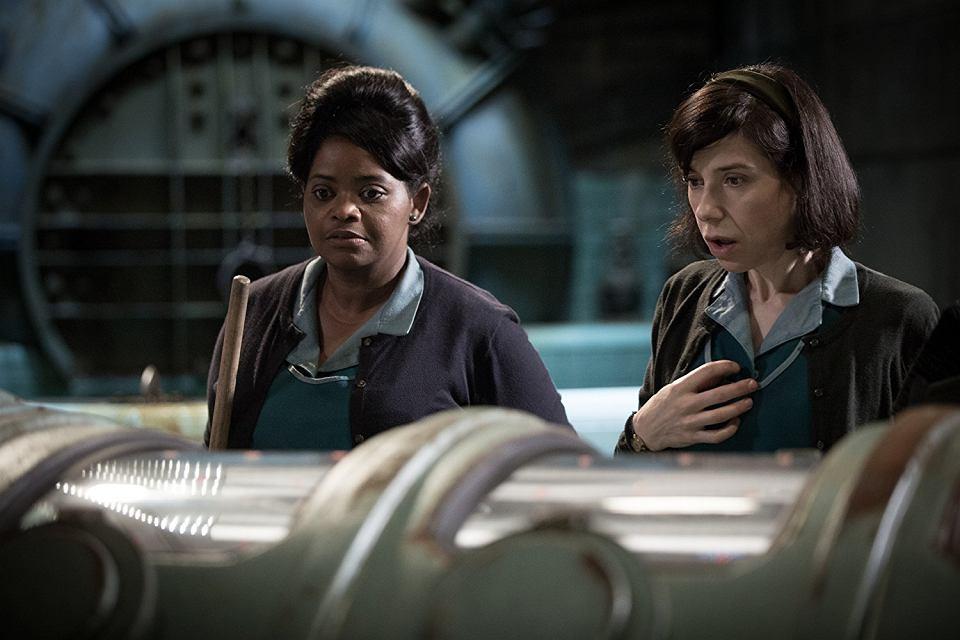 Octavia Spencer i Sally Hawkins w 'Kształcie wody' Guillermo del Toro