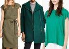 Kolory jesieni: ubrania i dodatki w różnych odcieniach zieleni