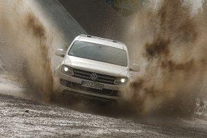 Galeria tygodnia | Volkswagen Amarok Ultimate | Maseczka błotna