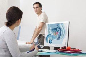 USG prostaty (stercza, gruczołu krokowego)