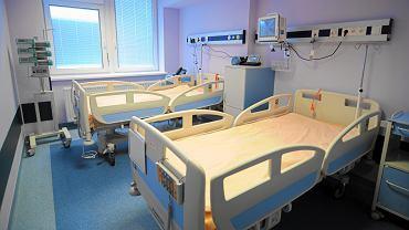 Oddział transplantacji szpiku w stołecznym Szpitalu przy ul. Banacha
