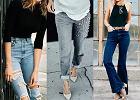 Spodnie dżinsowe w trzech modnych stylizacjach