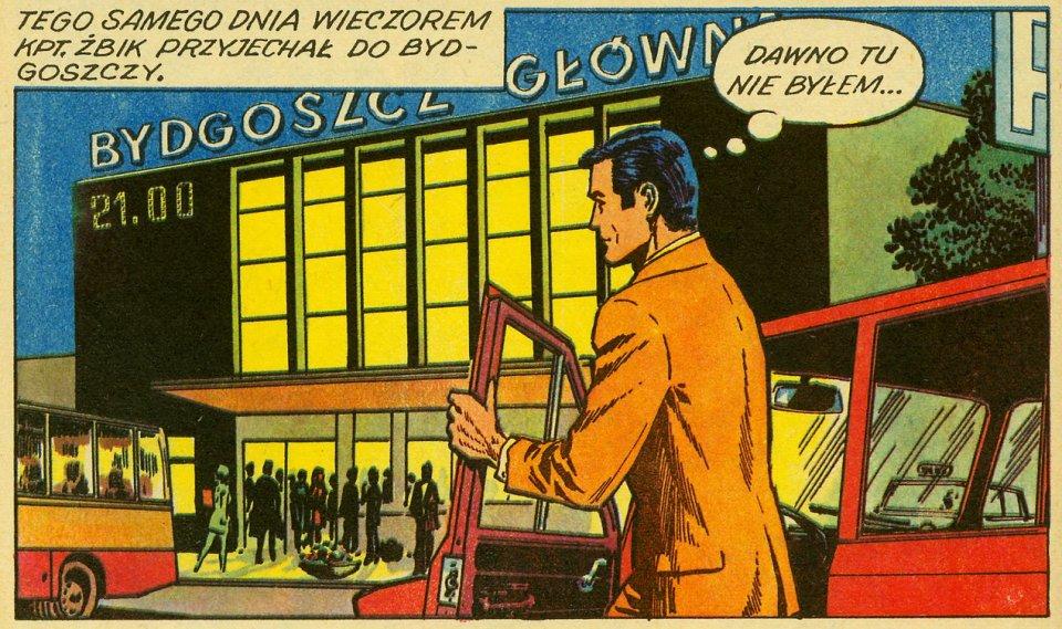 Seria 'Kapitan Żbik' biła rekordy popularności