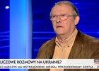 Michnik o wydarzeniach na Ukrainie: To rewolucja. I otwiera zupe�nie now� perspektyw� dla Rosji