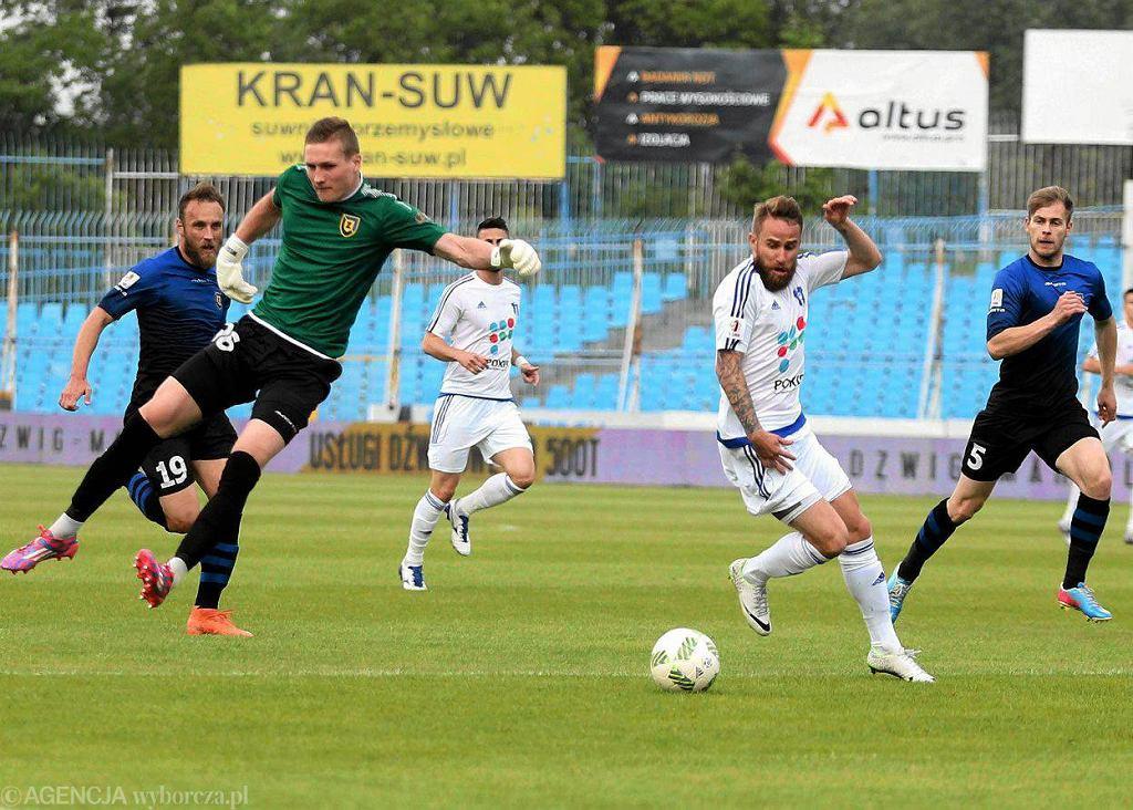 Piłka nożna, I liga. Wisła Płock - Zawisza Bydgoszcz