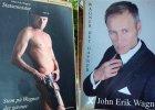 Dania: Nagi polityk na plakatach wyborczych. Ubrany tylko w kowbojski kapelusz i kabur�