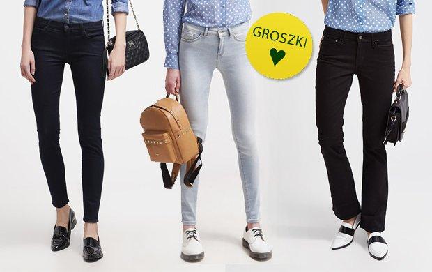 Spodnie jeansy, kt�re o�ywi� stylizacje