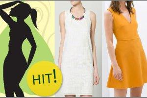 """Kobiecy poradnik: letnie sukienki dla figury typu """"gruszka"""" [4 różne fasony + propozycje ze sklepów]"""