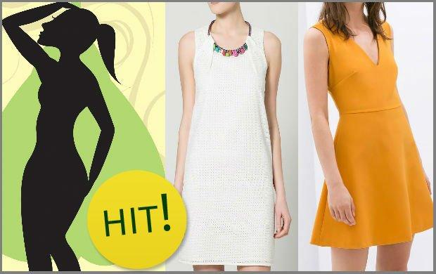 86be753eeb Kobiecy poradnik  letnie sukienki dla figury typu  gruszka   4 różne ...