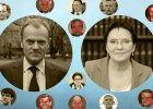 Ponad siedem lat rządów Platformy Obywatelskiej. Jak zmieniały się gabinety Tuska i Kopacz?