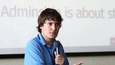 Dr Dariusz Jemielniak, badacz Wikipedii