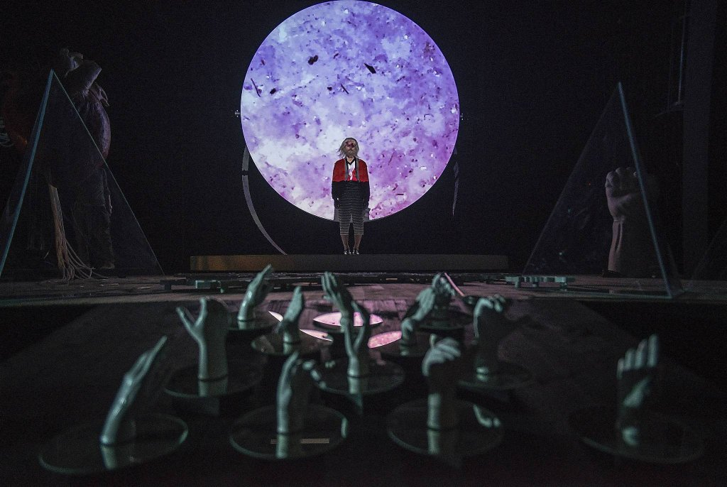 'Hamlet' w reżyserii Krzysztofa Garbaczewskiego  / 'Hamlet' w reżyserii Krzysztofa Garbaczewskiego/ Fot.MAGDA HUECKEL