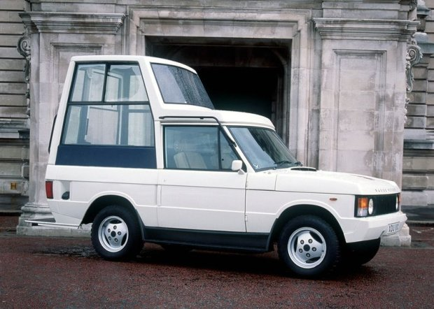 Ranger Rover papieża