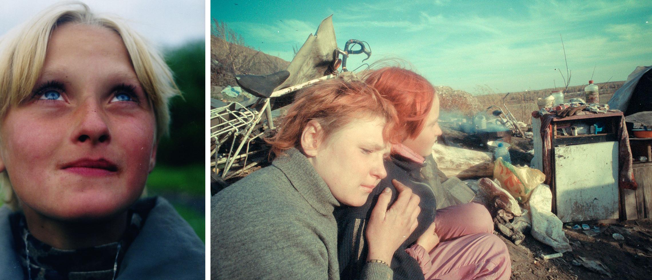 Po lewej: Jula; po prawej: Svietłana i Jula (fot. Hanna Polak)
