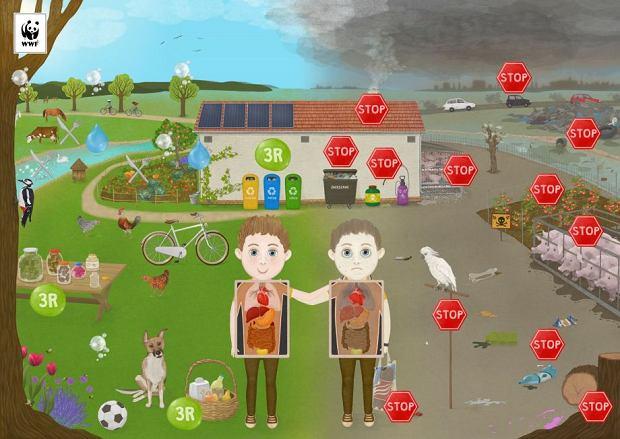 Program 'Przyjaciele Pandy' uczy jak dbać o środowisko