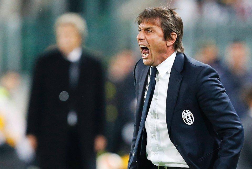 Trener Juventusu Antonio Conte miał powody do wrzasków