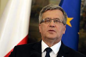 Bronis�aw Komorowski wysy�a ma�� ustaw� reprywatyzacyjn� do Trybuna�u Konstytucyjnego