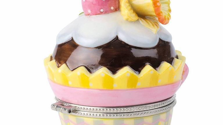 Uwaga na zęby! Imitujący lukrowaną babeczkę pojemnik z serii 'Spring Fantasy', Villeroy & Boch
