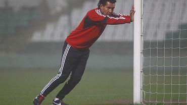 Trener Lechii Gdańsk Ricardo Moniz