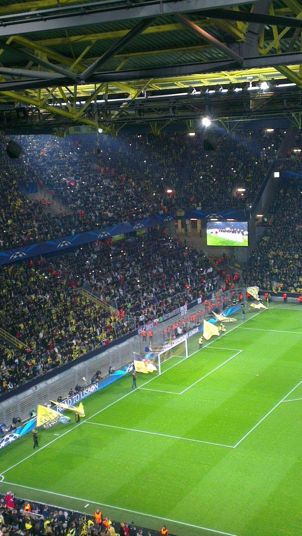 Kibice z Madrytu tego dnia przygl�dali si�, ile goli wbije im BVB wraz z 60-tysi�czn� publik�.
