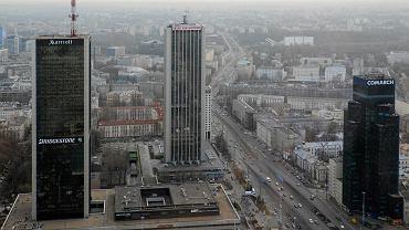 Nowe wieżowce są planowane w sąsiedztwie hotelu Marriott, m.in. u zbiegu Al. Jerozolimskich i ul. Chałubińskiego
